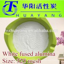 Fornecimento de fábrica de alumínio fundido branco de 325 mesh para polir aço
