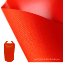 Good Air Tightness TPU Coated 75D Polyester Fabric With Environmental Customized Color Used For Inflatable Waterproof Bag