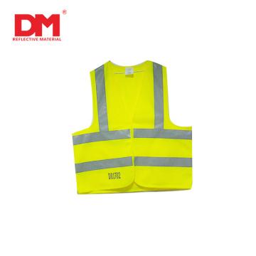 EN20471 Chaleco reflectante de seguridad de alta visibilidad