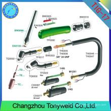 Melhor preço de refrigeração a gás torch tig WP-17 série tig