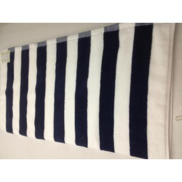 Luxury 30inch by 60 inch Stripe Beach Cotton Towel