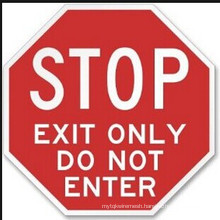 Aluminum Plate Reflective Traffic Sign (stop)