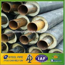 Tubo de aço de isolamento de espuma flexível resistente uv