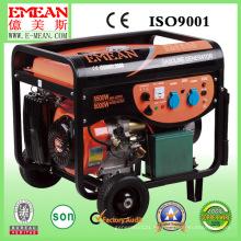 Generador de gasolina de potencia silenciosa de alta calidad 5kw