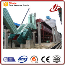 56 MW hot water gas boiler dust collector