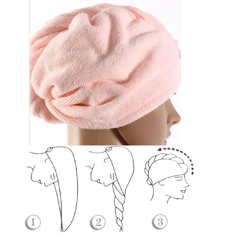 Drying Turban Wrap Hat