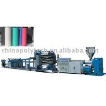 Línea de extrusión de PP/PE/PS/PET/TPE plancha de placa