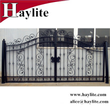 small wrought iron gate design