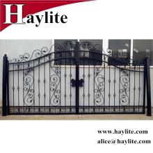 современный красивый дизайн железные ворота