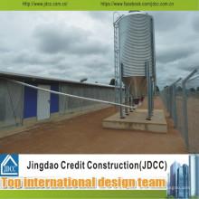 Leichte Stahlstruktur Lagerhalle