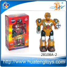 Nouveau arrive ABS Plastic talking toy robot figure d'action jouets