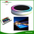 Couleur solaire RVB et télécommande IP68 Floating LED Solar Light
