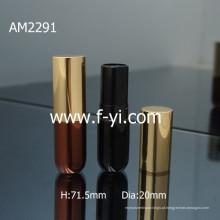 Brand New Moda Empty Empty Aluminum Lipstick Embalagem