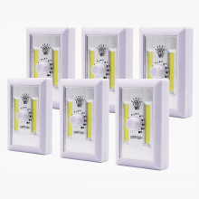 Dimmable Battery Operated COB LED Cordless Light Switch