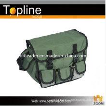 Рыболовные снасти сумку с зеленым цветом