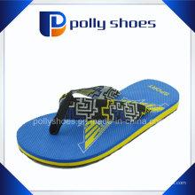 Мода Ткань Ремень Пляж Тапочки Сток Flip Flop