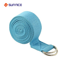 Adjustable Exercise D-ring Yoga Strap