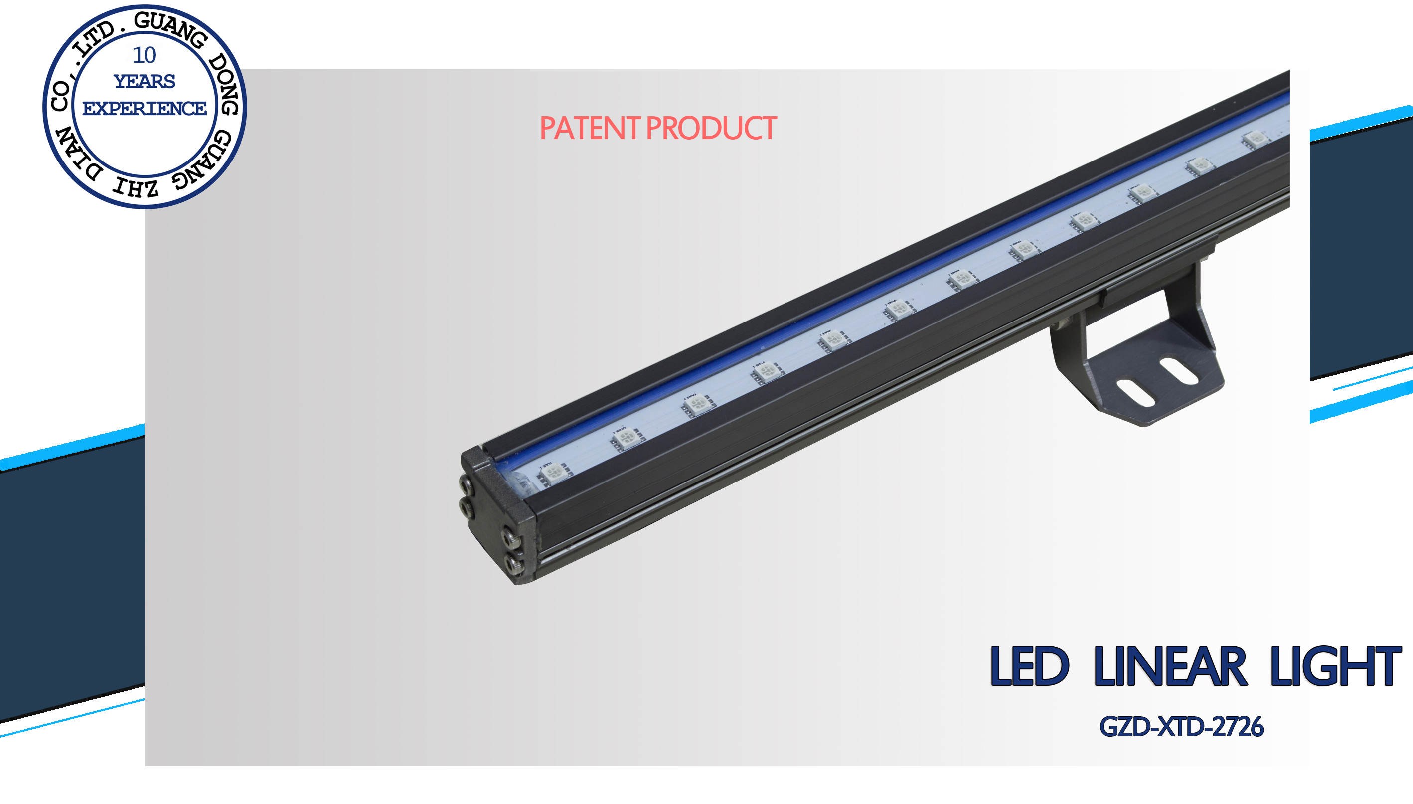 slim aluminum led linear light