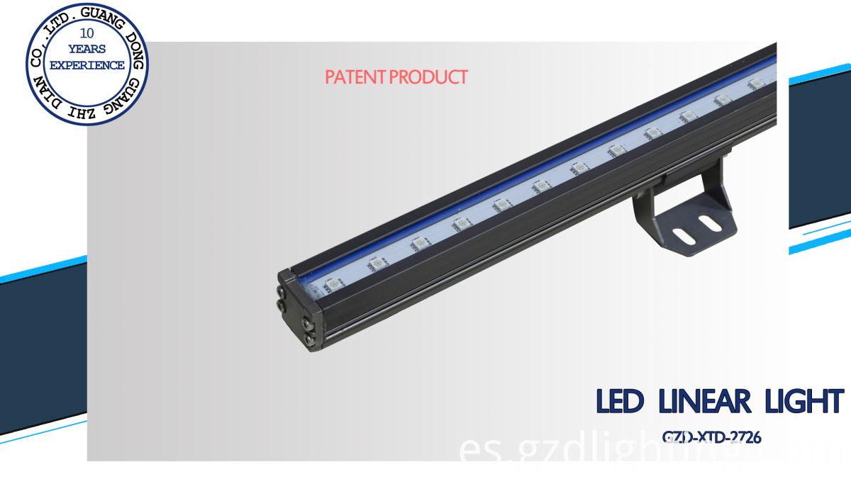 IP65 2726 LED linear light