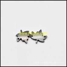 Форма листа металла ярлык для мешка и одежды
