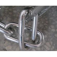 Cadena de acoplamiento de acero inoxidable para levantar