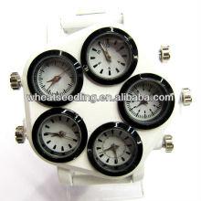 Populares personalizado Múltiplo fuso horário mão baratos chineses relógios digitais