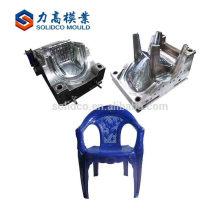 Molde de inyección de plástico barato para silla de moldeo con diseño
