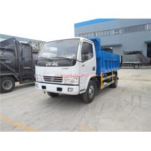 Dongfeng 4x2 dump type sanitation truck