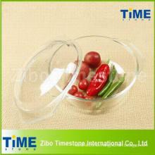 Pyrex cazuela transparente de alimentos de vidrio