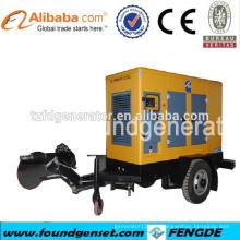 CE genehmigt 150kw Cumins Portable Generator