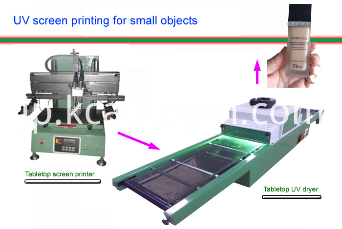 Table-UV-screen-printer