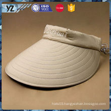 Latest product trendy style men's sports visor/sun visor cap/ hat with good price