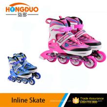 Patins de gelo ajustáveis / sapatos de rolo de skate