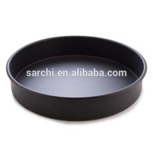 Ceramic non-stick aluminum pizza pan