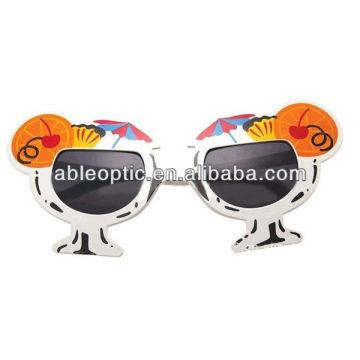 Солнцезащитные очки сторона дешевые пластиковые партии солнцезащитные очки пользовательские солнцезащитные очки участника