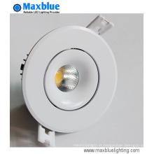 12W alta CRI 90 + CREE COB LED para baixo luz
