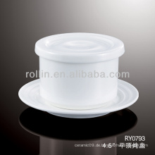 Gute Qualität chinesische weiße Porzellansuppe Tasse