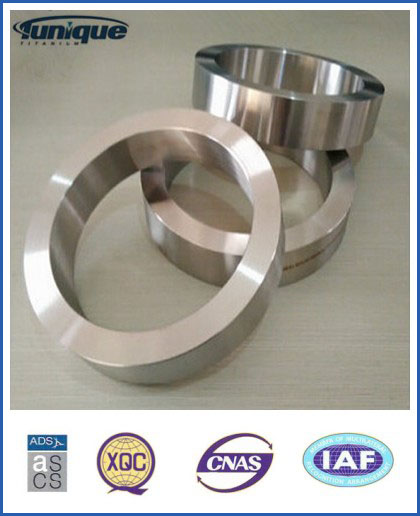 Gr2 Titanium Ring with ASTM B381 by forged