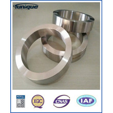Gr2 Titanium Ring met ASTM B381 door gesmeed