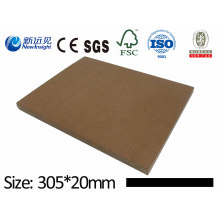 PE WPC Plank Decorative Board WPC Wall Panel CE SGS Fsc ISO Wood Plastic Composite Lhma029