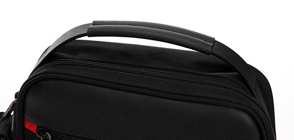 Large Capacity Black Shoulder Bag
