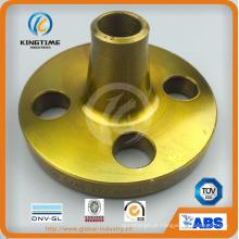 Soldada forjada / soldadura pescoço wn flanges de aço carbono (kt0395)