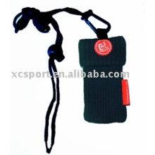 Gestrickte Handy-Socken