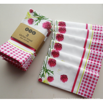 (BC-KT1003) Good-Looking Fashionable 100% Cotton Kitchen Towel