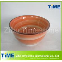 Lavado a mano de cerámica baratos tazón de cereal