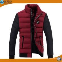 Veste décontractée chaude de mode de veste chaude extérieure d'hommes de veste d'hiver