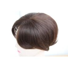 Natural look bleach knots lace toupee