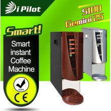 3-Máquina de café de la selección con la opción única de dispensar el agua caliente y fría (GEMINI 2S)
