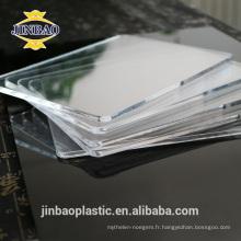 JINBAO haute brillance bonne qualité en gros panneau acrylique pour douche