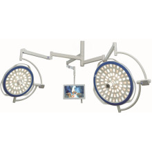 LED surgical light with HD camera